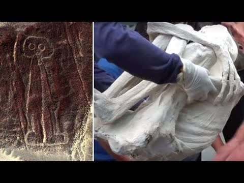 Alien Mummy discovered near Nazca Lines