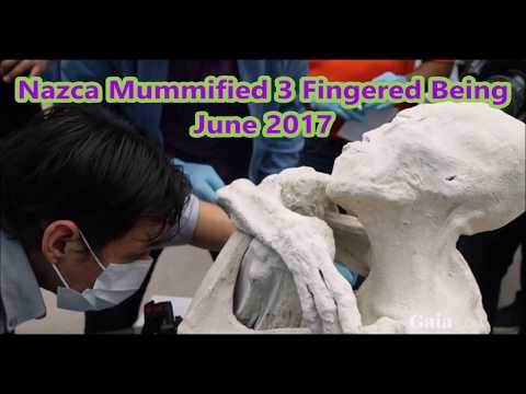 Mummified Nazca Alien! Mummy found near Nazca Lines! Video and Xrays!
