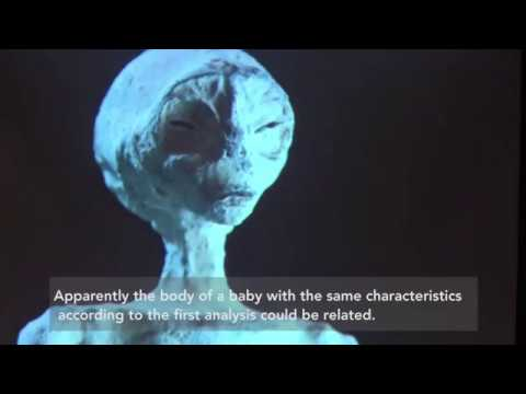 ALIENS LATEST Dead alien baby and pregnant mother found inside tomb in Nazca, Peru