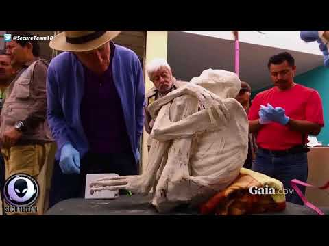 ALIEN MUMMY Found Near Peru's Nazca Lines 6/22/17