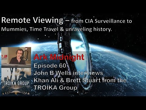 Remote Viewing –  From CIA OP Stargate to Alien Mummies #ArkMidnight 60