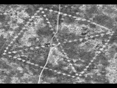 Kazakhstan lines – Similar to the Nazca lines sightings – NASA pictures
