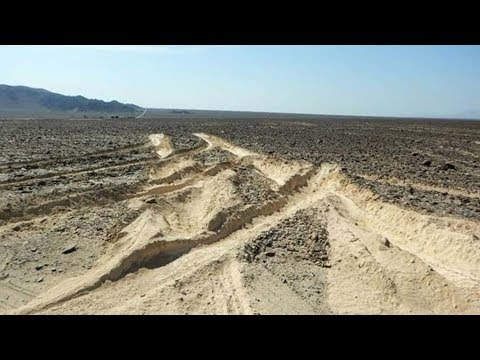 Truck Driver Destroys Parts of the Nazca Lines in Peru
