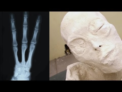 Three fingered Mummy Discovered in Nazca,Peru!