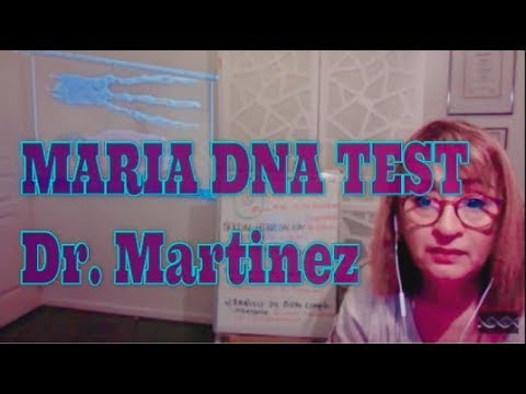 BIOLOGIST CLARA MARTINEZ ANALIZING #MariaDNA THE NAZCA ALIEN MUMMY