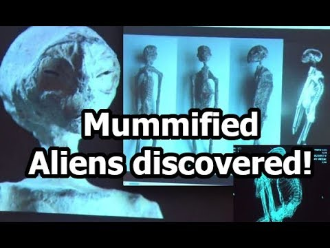 Scientists discover mummified ALIENS in Nazca, Peru!