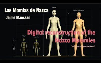 ✅ Digital reconstruction of the Nazca Mummies