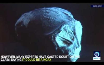 Researcher excites UFO enthusiasts with 'unearthed alien mummies'