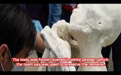 They Say The 'mummified Humanoid' Was Found Near The City Of Nazca