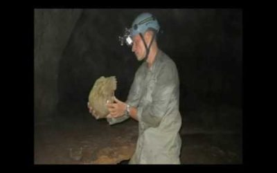 Shocking Discovery while filming in a Cave in Belize