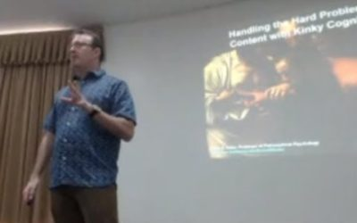 Daniel Hutto – Handling the hard problem of content with kinky cognition – III ICCN Ways of Enaction