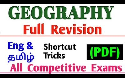 Geography Full Revision in Tamil | Tnpsc Geography Full Revision | upsc Geography full revision