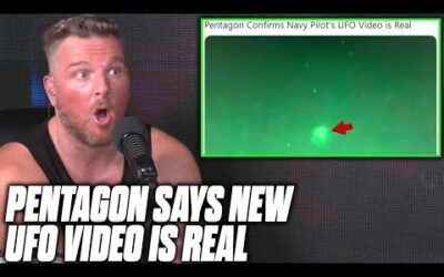 Pat McAfee Reacts To Pentagon Confirming New UFO Footage