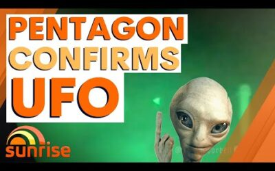 UFO caught on camera: Pentagon confirms leaked images and video are real | 7NEWS