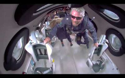 Richard Branson's Message From Space
