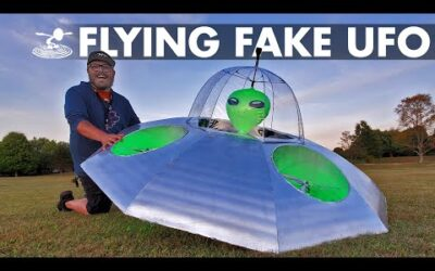 Faking a UFO Sighting 🛸 How hard is it? | Area 51👽